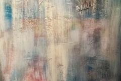 Schleier der Vergangenheit, 2017, Acryl auf Leinwand